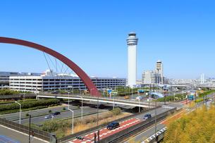 羽田空港の写真素材 [FYI01792132]