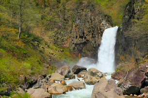 苗名滝の写真素材 [FYI01792180]