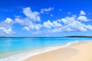 瀬底島の瀬底ビーチの写真素材 [FYI01792271]