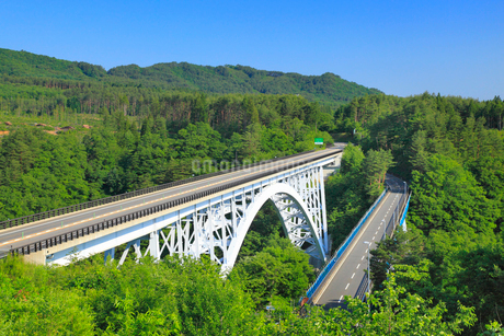 槇木沢橋の写真素材 [FYI01792298]