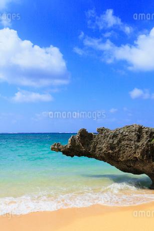 沖縄・石垣島 サンセットビーチの写真素材 [FYI01792353]