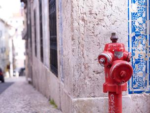 リスボン市 バイロ・アルト地区情景の写真素材 [FYI01792442]
