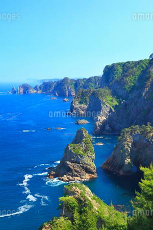 北山崎断崖の写真素材 [FYI01792515]