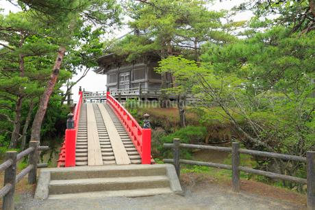 松島 五大堂・透橋の写真素材 [FYI01792682]