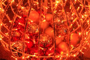クリスマスの飾りの写真素材 [FYI01793005]