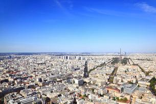 モンパルナス・タワーより望むパリ市街の写真素材 [FYI01793051]