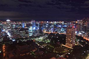 東京都内・お台場方面の夜景の写真素材 [FYI01793122]