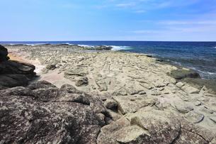 千畳敷海岸の写真素材 [FYI01793225]