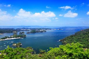松島 大高森 壮観の写真素材 [FYI01793404]