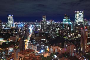 東京都内・新宿方面の夜景の写真素材 [FYI01793455]
