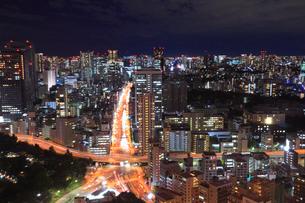 東京都内・品川方面の夜景の写真素材 [FYI01793761]
