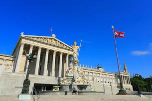 ウィーンの国会議事堂の写真素材 [FYI01793845]