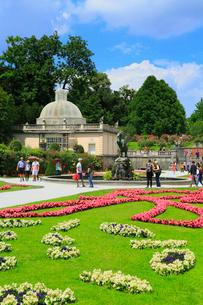 ザルツブルグ ミラベル庭園のペガサスの泉の写真素材 [FYI01793855]