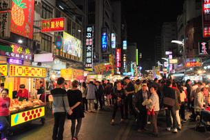 六合国際観光夜市の写真素材 [FYI01793880]