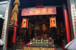 三街會館(関帝廟)の写真素材 [FYI01793933]