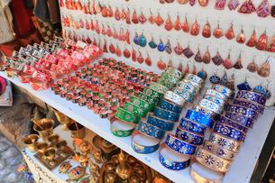 モスタルの土産物屋の写真素材 [FYI01793988]