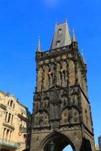 プラハの火薬塔の写真素材 [FYI01794064]
