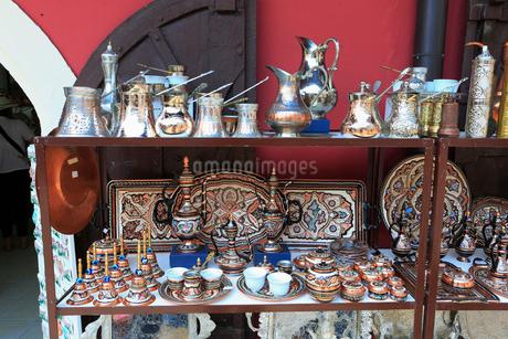 モスタルの土産物屋の写真素材 [FYI01794114]