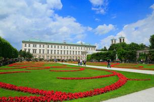 ザルツブルグ ミラベル宮殿とミラベル庭園の写真素材 [FYI01794156]