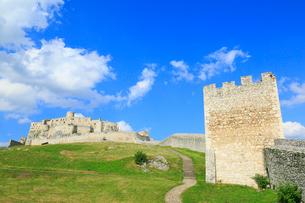スピシュスケー・ポドフラディエのスピシュ城の写真素材 [FYI01794226]
