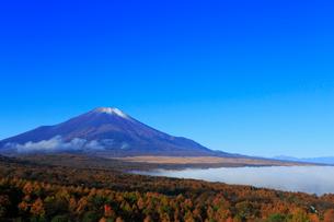 三国峠パノラマ台から望む富士山の写真素材 [FYI01794545]