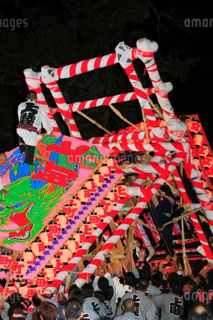 飯坂温泉 飯坂けんか祭りの写真素材 [FYI01794761]