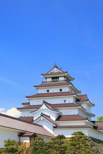 鶴ヶ城の写真素材 [FYI01794905]