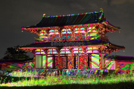 平城京天平祭のデジタル掛軸の写真素材 [FYI01794912]