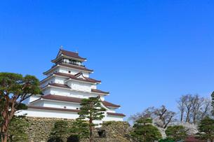 鶴ヶ城の写真素材 [FYI01794989]
