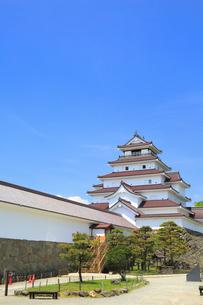 鶴ヶ城の写真素材 [FYI01795049]