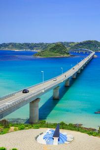 角島大橋と角島の写真素材 [FYI01795306]
