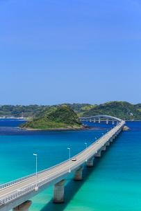 角島大橋と角島の写真素材 [FYI01795538]