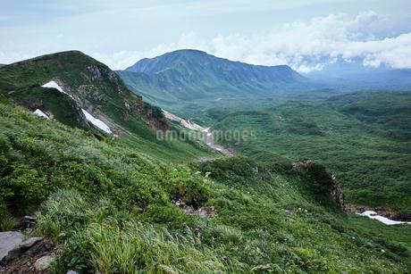 鳥海山から望む景色の写真素材 [FYI01797311]