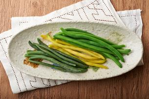 茹でたいんげん豆の写真素材 [FYI01797340]