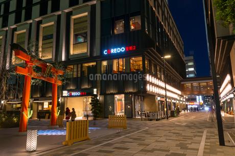 日本橋のコレド室町周辺の街並の写真素材 [FYI01797419]