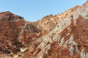 那須岳トレッキングの写真素材 [FYI01797446]