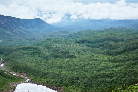 鳥海山から望む景色の写真素材 [FYI01797491]