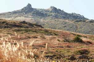 那須岳トレッキングの写真素材 [FYI01797497]