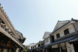倉敷美観地区の本町通りの写真素材 [FYI01797500]