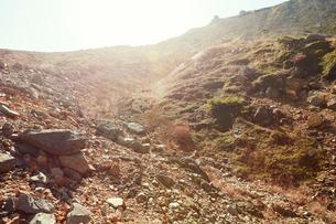 那須岳トレッキングの写真素材 [FYI01797508]