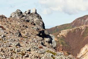 那須岳トレッキングの写真素材 [FYI01797527]