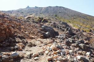那須岳トレッキングの写真素材 [FYI01797528]
