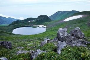 鳥海山から望む景色の写真素材 [FYI01797529]