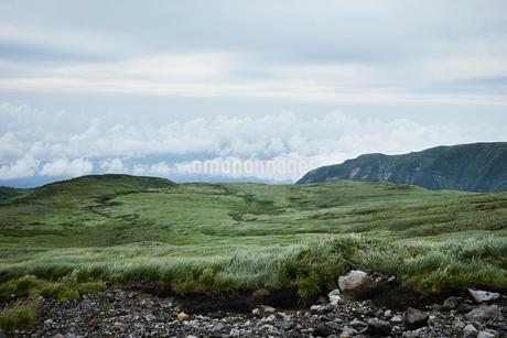 鳥海山から望む景色の写真素材 [FYI01797617]