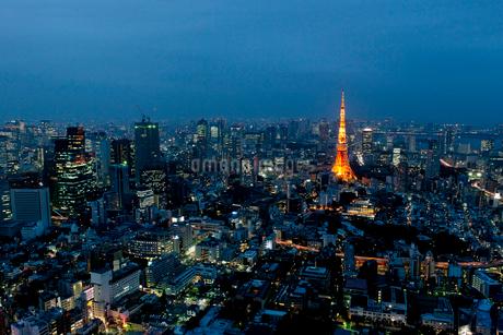 東京タワーの写真素材 [FYI01797620]