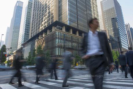 大手町のビジネス街の写真素材 [FYI01797656]