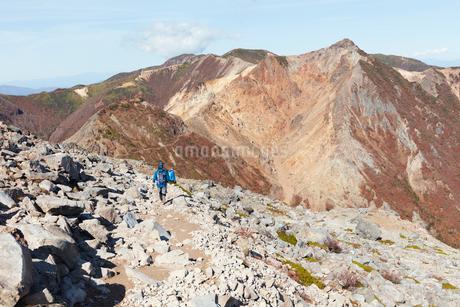 那須岳トレッキングの写真素材 [FYI01797787]