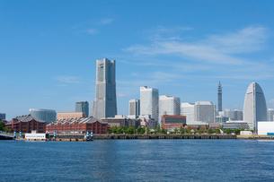 横浜港みなとみらいの風景の写真素材 [FYI01797871]