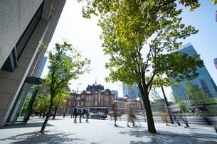 東京駅丸の内の風景の写真素材 [FYI01797899]