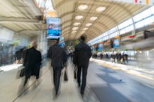 品川駅の風景の写真素材 [FYI01797955]